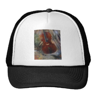 Musical Collage by Barbara Landrith Trucker Hat