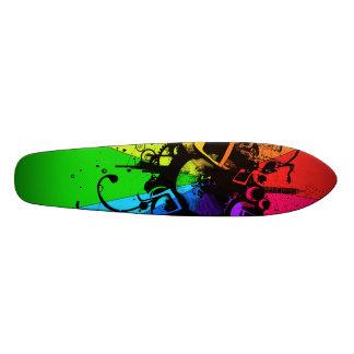 Musical Colour Board Skateboards