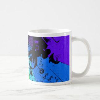 Musical Colour Classic White Coffee Mug