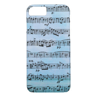 musical compostion iPhone 7 case