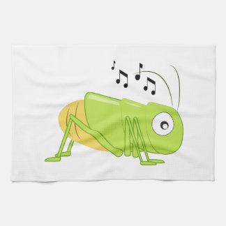 Musical Cricket Kitchen Towel