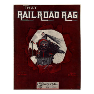 Musical del trapo del ferrocarril póster
