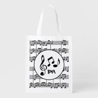 Musical Design Reusable Tote
