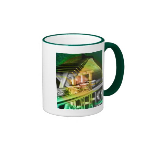 Musical Duet Green Mugs