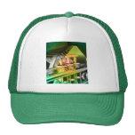 Musical Duet Green Trucker Hats