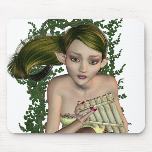 Musical Elf Mouse Pad