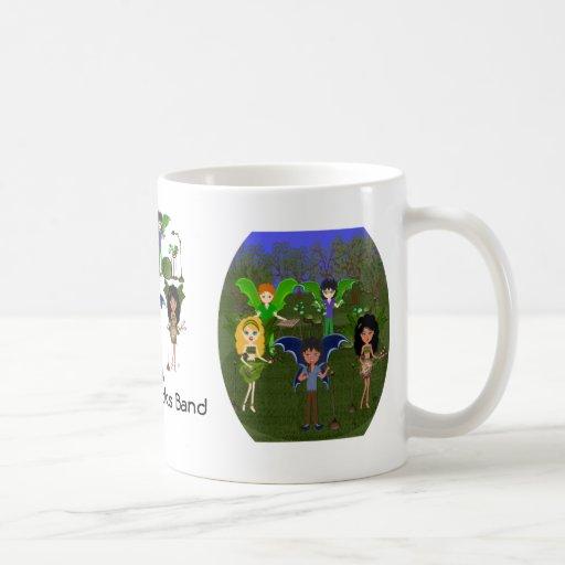 Musical Faerie Band in Enchanting Field Coffee Mug