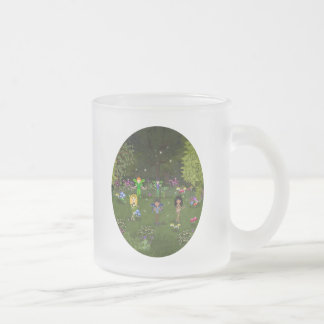 Musical Faerie Band in Enchanting Forest Coffee Mug