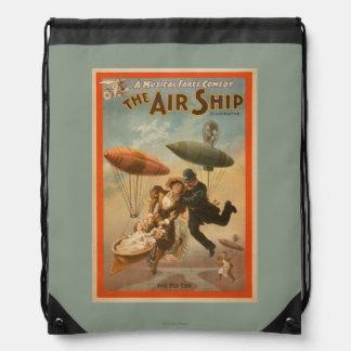 Musical Farce Comedy, The Air Ship Theatre 2 Backpacks