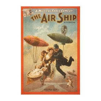 Musical Farce Comedy, The Air Ship Theatre 2 Canvas Print