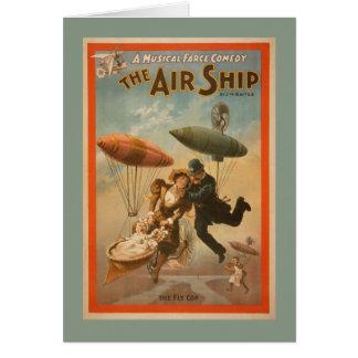 Musical Farce Comedy, The Air Ship Theatre 2 Card