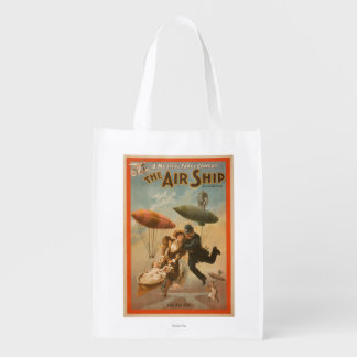 Musical Farce Comedy, The Air Ship Theatre 2 Grocery Bags