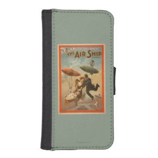 Musical Farce Comedy, The Air Ship Theatre 2 iPhone 5 Wallet Case