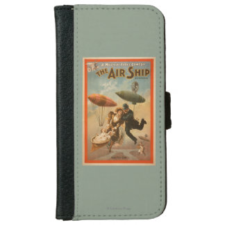 Musical Farce Comedy, The Air Ship Theatre 2 iPhone 6 Wallet Case