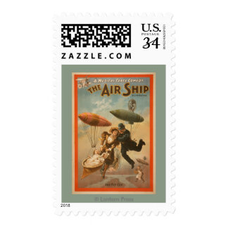 Musical Farce Comedy, The Air Ship Theatre 2 Postage
