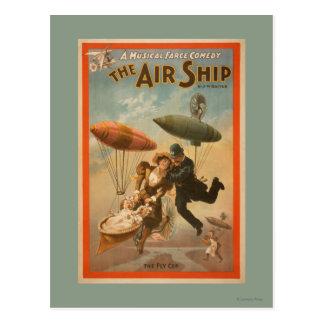 Musical Farce Comedy, The Air Ship Theatre 2 Postcard
