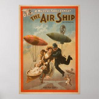 Musical Farce Comedy, The Air Ship Theatre 2 Poster