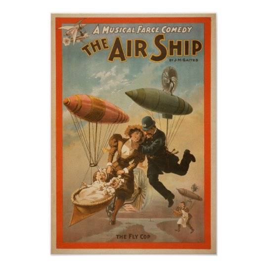 Musical Farce Comedy, The Air Ship Theatre 2 Poster