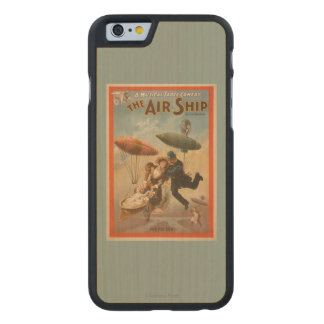 Musical Farce Comedy, The Air Ship Theatre 2 Carved® Maple iPhone 6 Slim Case