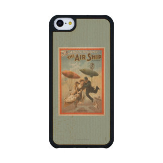 Musical Farce Comedy, The Air Ship Theatre 2 Carved® Maple iPhone 5C Case