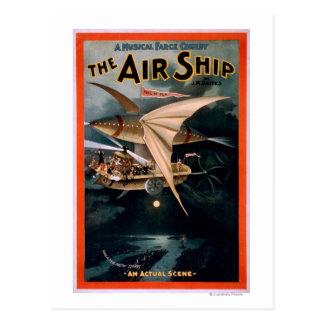 Musical Farce Comedy, The Air Ship Theatre Postcard