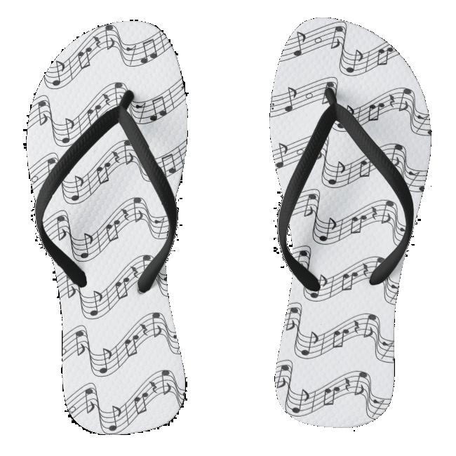 Musical Flip Flops