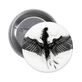 Musical Freedom Pinback Button