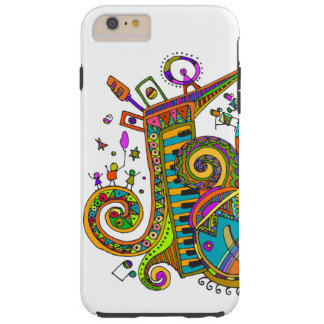 musical fun tough iPhone 6 plus case
