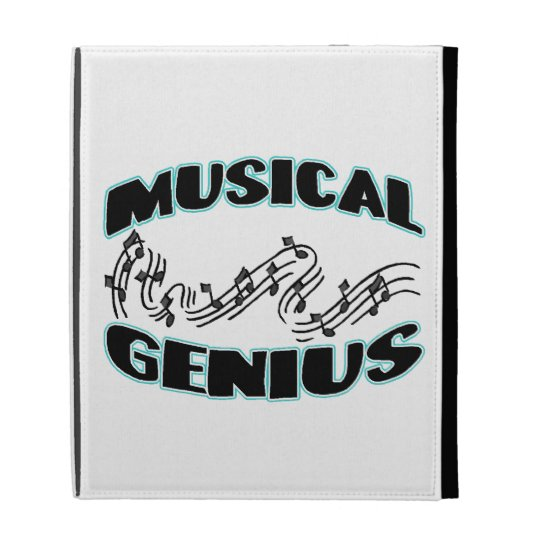 Musical Genius Music Notes iPad Folio Cases