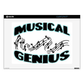 """Musical Genius Music Notes Skins For 15"""" Laptops"""