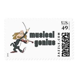 Musical Genius Stamps