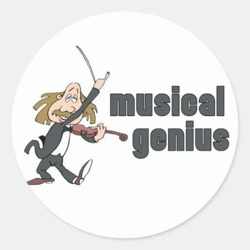 Musical Genius Stickers