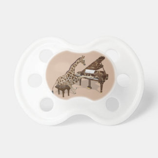 Musical Giraffe Plays Grand Piano Pacifier