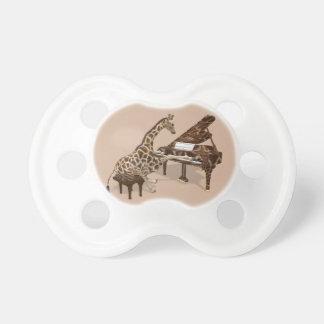 Musical Giraffe Plays Grand Piano Pacifier
