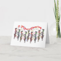 Musical Goat Christmas Card