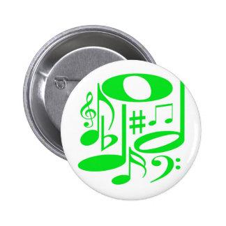 Musical Green Button