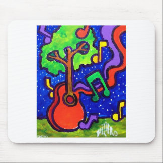 Musical Greetings by piliero Mouse Pad
