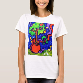 Musical Greetings by piliero T-Shirt