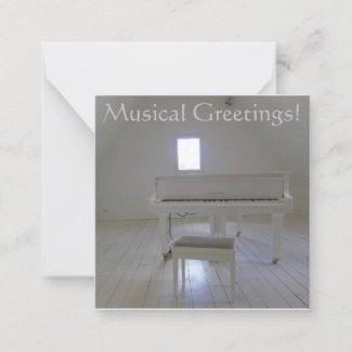 Musical Greetings! Note Card