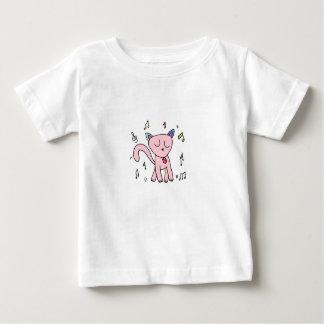 Musical Groovin' Kitty Kids Tee