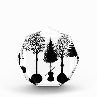 Musical Growth Acrylic Award