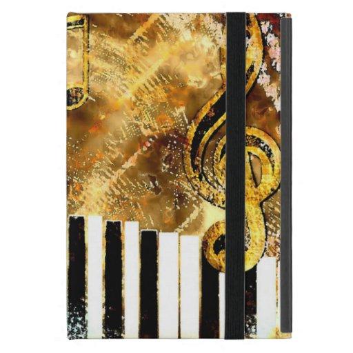 musical grunge iCase iPad Mini Case with Kickstand