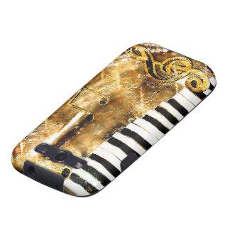Musical Grunge  Samsung Galaxy S Case