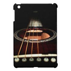 Musical guitar iPad mini case