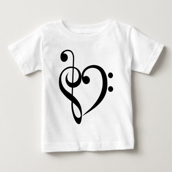 Musical Heart Baby T-Shirt