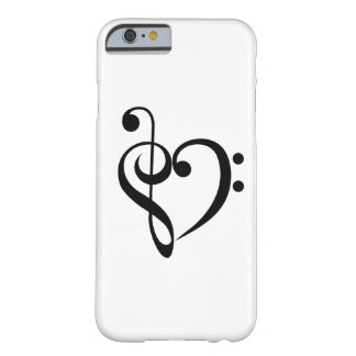 Musical Heart Barely There iPhone 6 Case