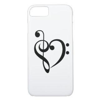 Musical Heart iPhone 8/7 Case