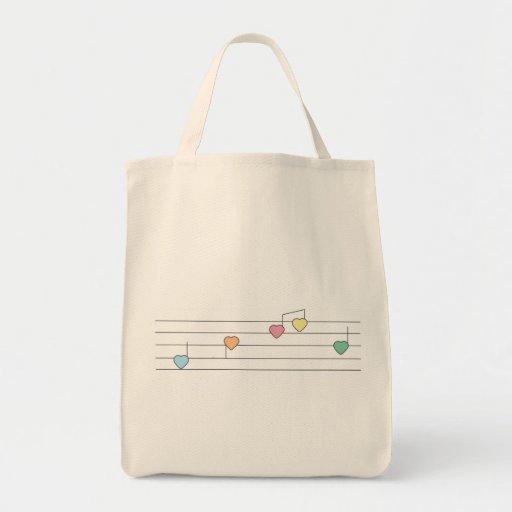 Musical Hearts Bag