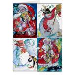 MUSICAL HOLIDAY CHRISTMAS GREETINGS CARD