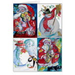 MUSICAL HOLIDAY CHRISTMAS GREETINGS CARDS
